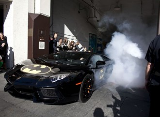 Our hero! Batkid saves the day in San Francisco