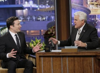 Jimmy Fallon writes thank-you notes to Jay Leno