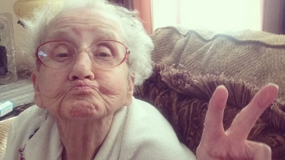 Grandma Betty is the toast of Instagram thanks to great-grandson's tribute