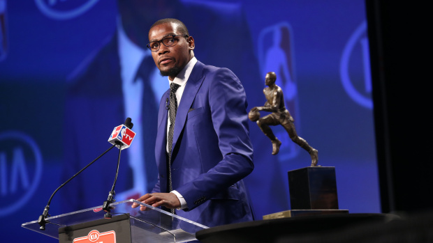 Kevin Durant Wins Mother's Day 2014 with MVP Speech
