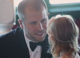 NASCAR  Driver Brian Scott's Emotional Wedding Vows Go Viral