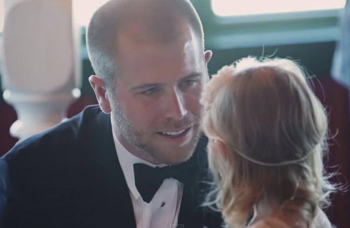 NASCAR  Driver Brian Scott's Emotional Wedding Vows Go Viral