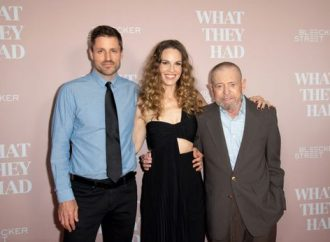 Hilary Swank's perspective on life, love changed after caring for ailing father