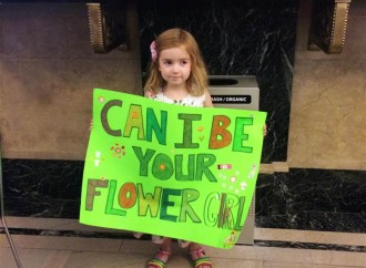 She Wanted To Be a Flower Girl, But She Needed a Wedding
