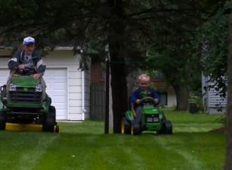 Minnesota preschooler, 89-year-old WWII veteran neighbor become fast friends over unlikely bonds