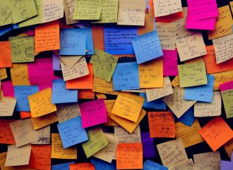 All it took was one dollar and a post-it note to inspire others