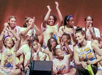 Idina Menzel offers girls A BroaderWay