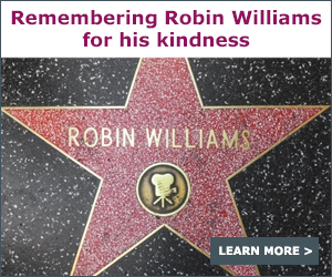Remembering Robin Williams for his Kindness