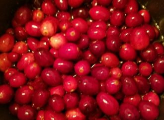 Good for You Cranberry Sauce: No White Sugar Added