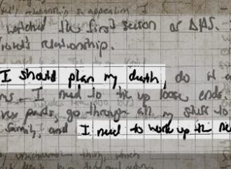 A lost girl's diary: The hidden anguish of Alexandra Valoras